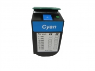 Toner Cyan 2000 S. Lexmark 0C540H1CG kompatibel