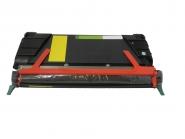 Toner Yellow 6000 S. Lexmark 0C734A2YG kompatibel