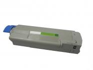 Toner Schwarz 8000 S. OKI 43872308 kompatibel