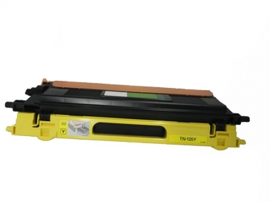 Toner Yellow 4000 S. Brother TN-135Y kompatibel