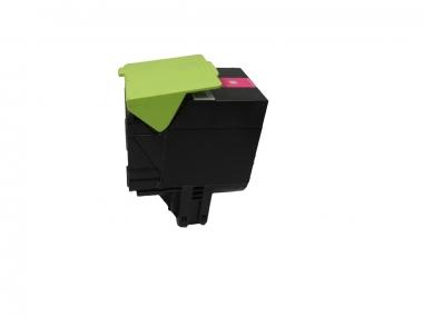 Toner Magenta 3000 S. Lexmark 70C2HM0, 702HM kompatibel