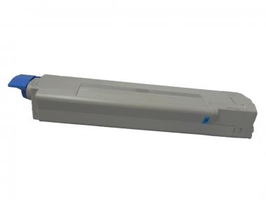 Toner Cyan 8000 S. OKI 44059107 kompatibel