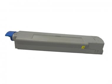 Toner Yellow 10000 S. OKI 44059209 kompatibel