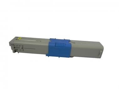 Toner Yellow 2000 S. OKI 44469704 kompatibel