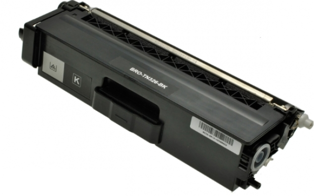 Toner Schwarz 4000 S. Brother TN-326BK kompatibel