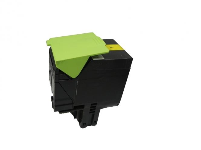 Toner Yellow 3000 S. Lexmark 70C2HY0, 702HY kompatibel