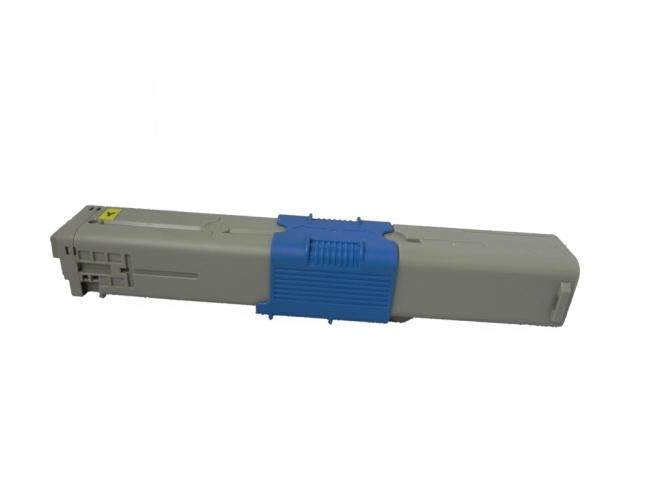 Toner Yellow 1500 S. OKI 44973533 kompatibel