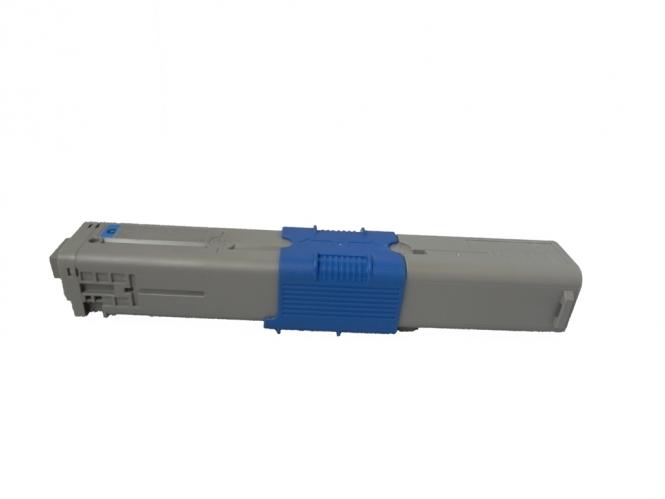 Toner Cyan 2000 S. OKI 44469706 kompatibel